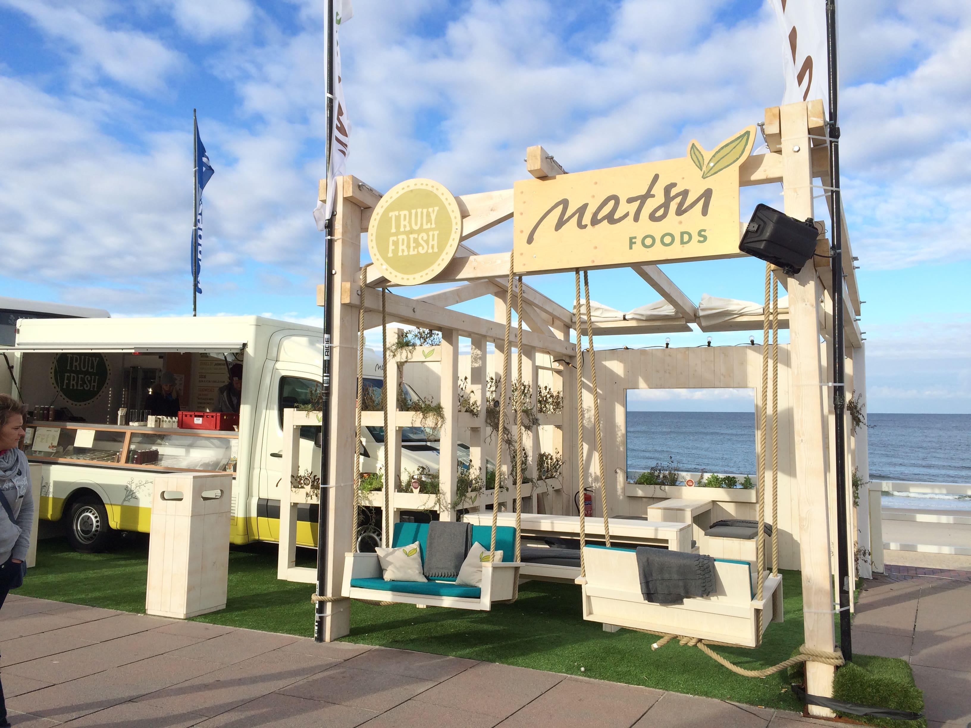 Natsu Food Truck beim Windsurf Worldcup 2017